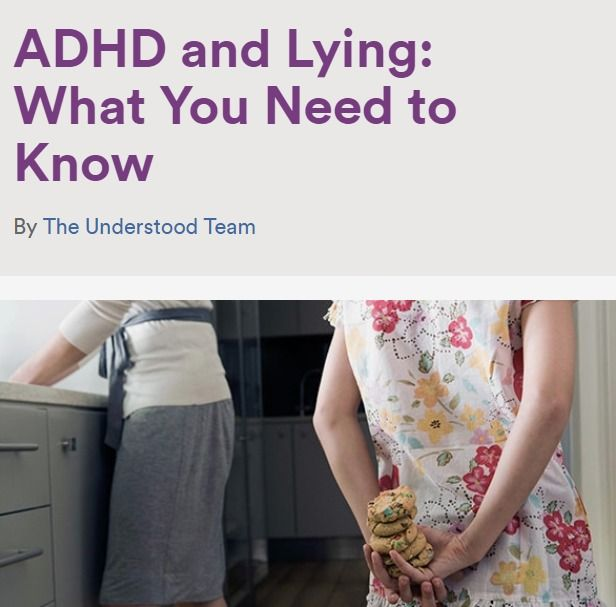 Lying as a Coping Mechanism for Kids With ADHD