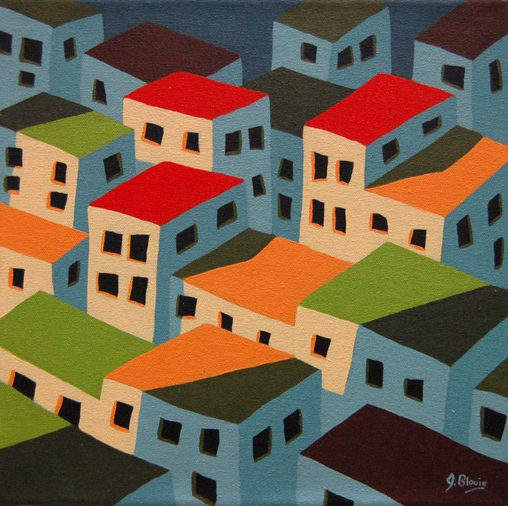 View and buy this Acrylic on Canvas Painting by Jocelyn Blouin