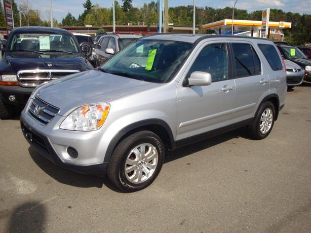 2005 Honda crv EX-L  4wd  $13 K  129000km