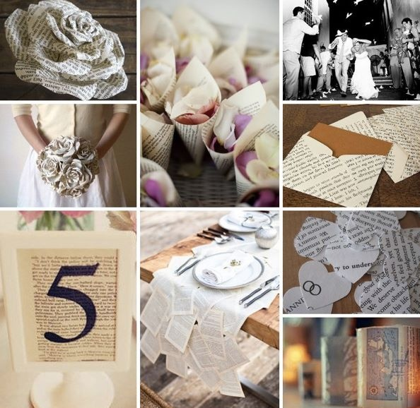 How-To Tuesday: The Book-Themed Shower And Wedding