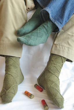 Hunter Socks by Christine Olson