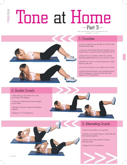 Crunches are the favored workout for belly muscle mass development. There are tons of abdominal muscles exercise routines, but the crunch is by far the most commonly used. It is easy and efficient....