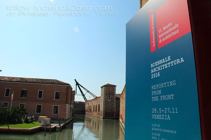 Venice, the most beautiful city in the world! #biennalearchitettura2016 MaterialiCasa.com photoreport. Follow us!