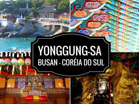 Yonggungsa é um dos principais templos budistas da Coréia do Sul. Localizado nos arredores de Busan, no sul da Coréia do Sul
