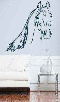 horse wall stickers 5723 horse wall decal sticker graphic mural master design decals - Wall Design Decals