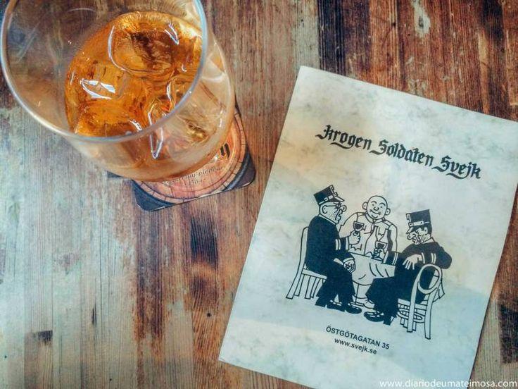 Krogen Soldaten Švejk: um pub rústico e bem servido na ilha deSödermalm