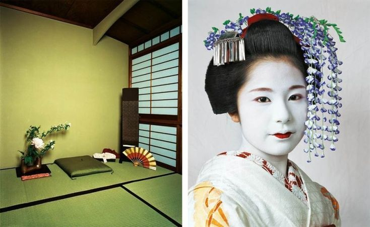 Risa, 15, Kyoto, Japan Living with 13 other women in a teahouse in Kyoto, Japan, 15-year-old Risa is a maiko—an apprentice geisha. She sleeps with five other women in a room that doubles as a dining room and a tea room. - Matador Network