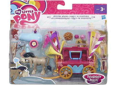 MY LITTLE PONY Ystävyyden taikaa -ponipakkaus Tervetuliaisvaunut