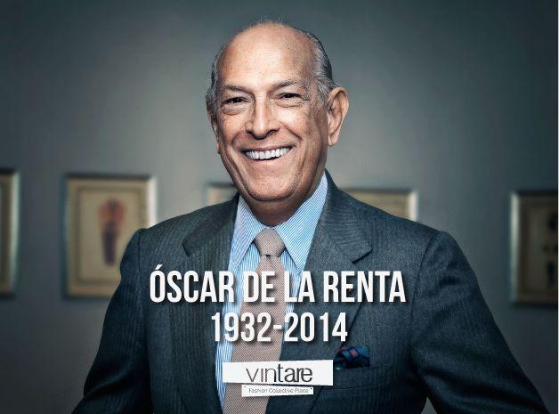 R.I.P Oscar de la Renta