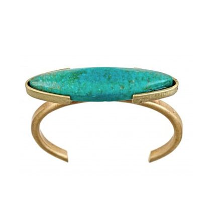 Eco Friendly Turquoise Cuff