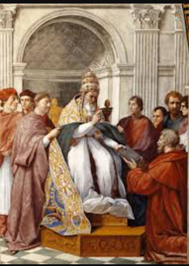 Roman Catholic Church during the middle ages : During the high Middle Ages, the Roman Catholic Church became organized into an elaborate hierarchy with the pope as the head in western Europe. He establish supreme power. Many innovations took place in the creative arts during the high middle ages