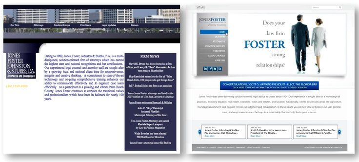Name-based law firm marketing Fishman Marketing Creative print - law firm brochure