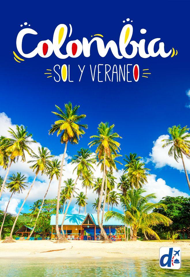 ¿Estas buscando #sol y #verano? Con sus más de 300 paradisíacas #playas, #Colombia es la respuesta! Descubre todo lo que tienes que saber de este increíble destino! #viajar #trip #travel   #Colombia es la respuesta!