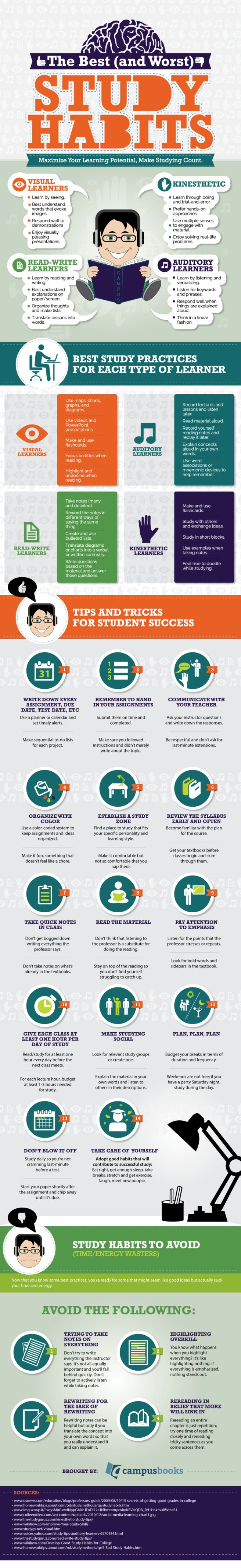 Proven Study Hacks to Help You Make The Grade [Infographic]
