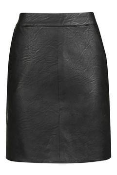 TALL PU Short Pencil Skirt