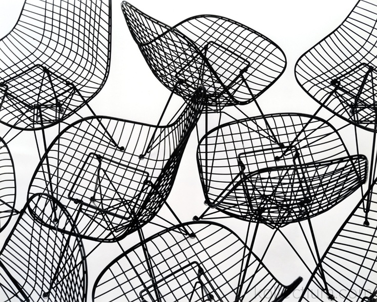 Wirechair by Heames - Domus Archive