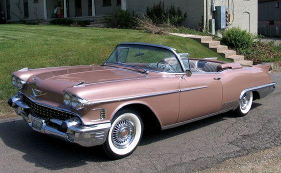 1958 Cadillac Eldorado Biarritz Cabrio DIESE LADUNG !!!!!!