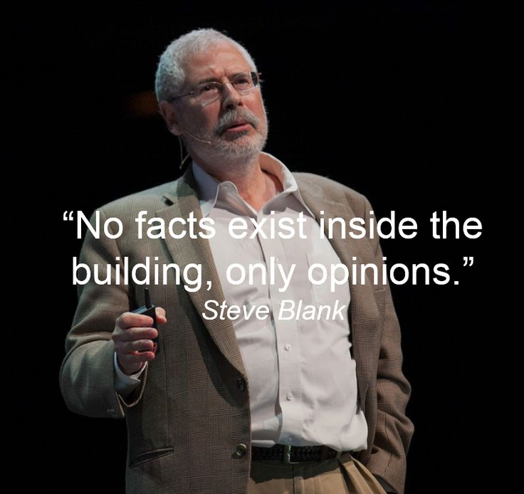steve blank quotes - Google Search