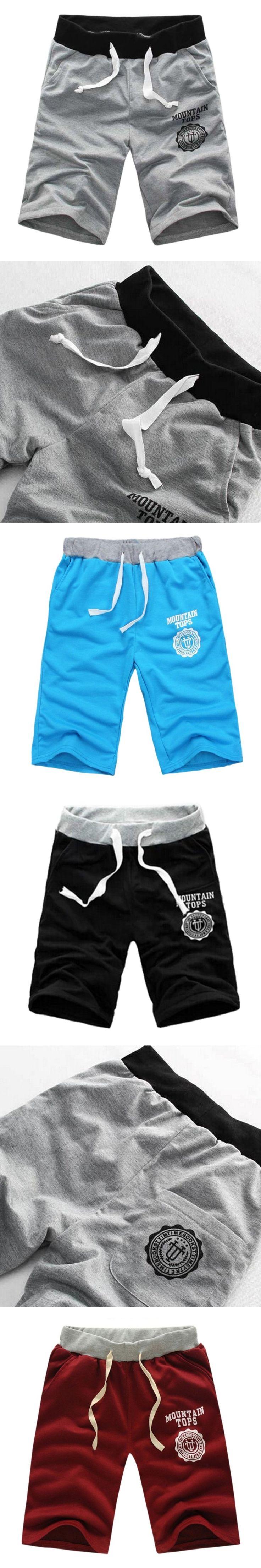 New Bermudas Masculina Marca Shorts men beach Short board Male Workout Shorts Casual Exercise Boardshorts High quality