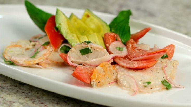 Chef Luca Della Casa's Texas Shrimp and Tomato Salad
