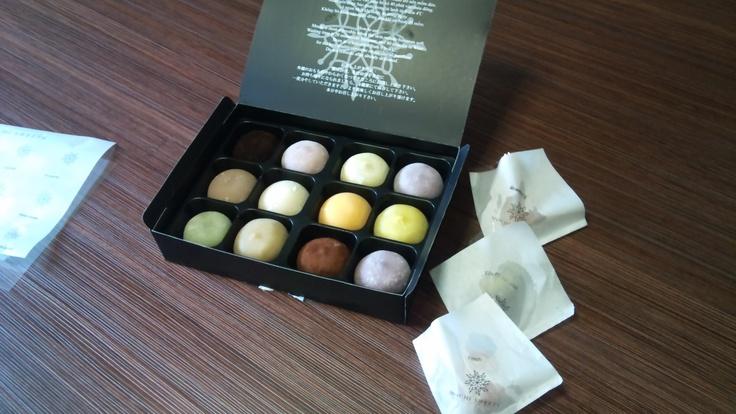 Japanese Mochi sweets