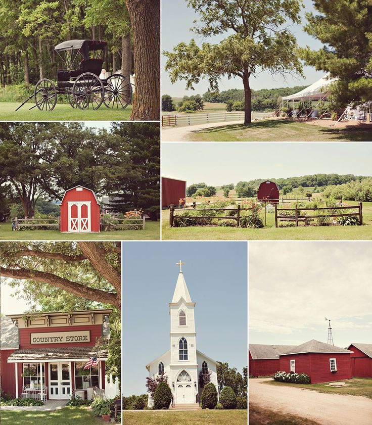 Oak Hill Farm - Beautiful Galena Illinois wedding venue