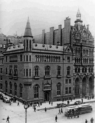 ANZ Gothic Bank on Collins Street