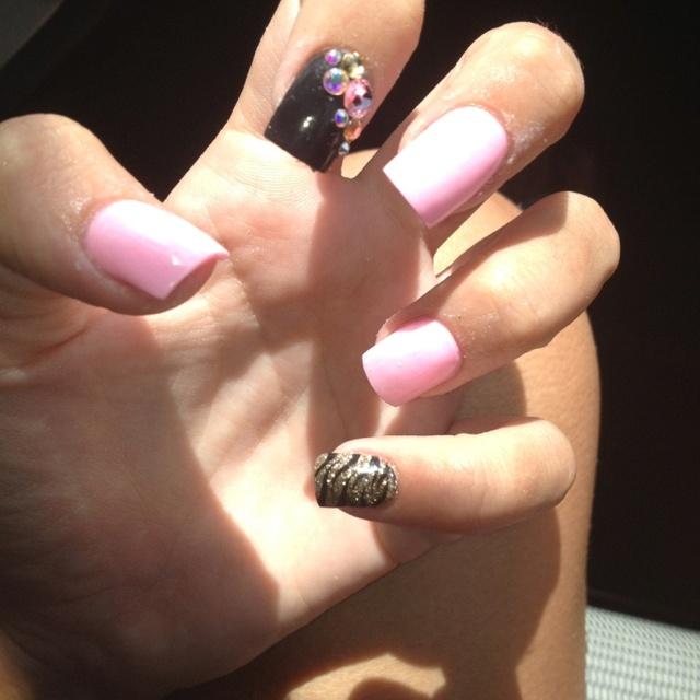 best 25 zebra acrylic nails ideas on pinterest pink