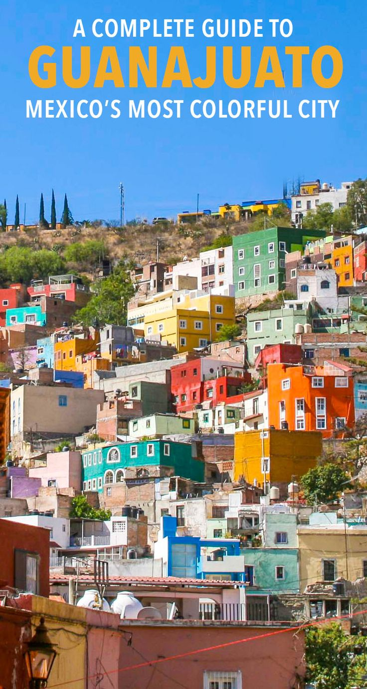 Guanajuato, Mexico is a must visit for anyone! Read this full guide with things to do, where to stay, budget tips, and more. #guanajuato #mexicotravel