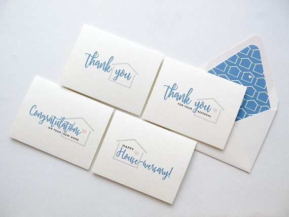 Real Estate Agent Thank You Cards Real Estate Referral Card Happy Housiversary Referral Cards Referrals