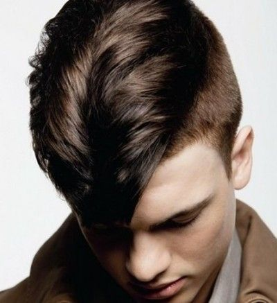 Sexy half shaved style for men