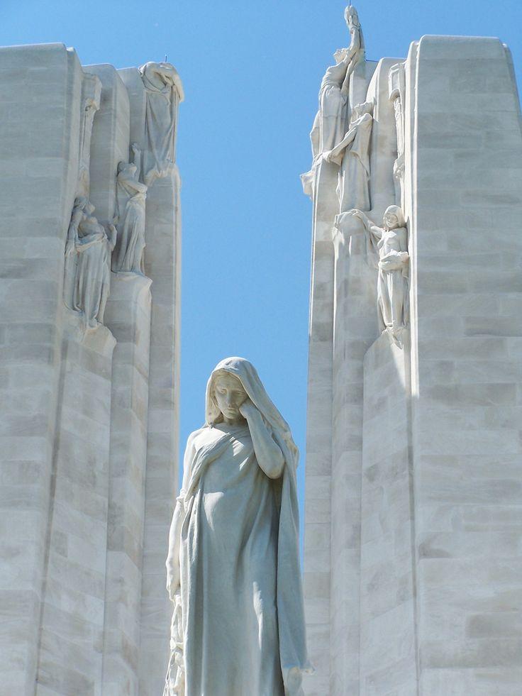 .~Vimy Ridge Memorial, France~.