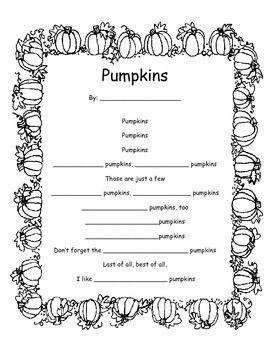 pumpkin poems for halloween