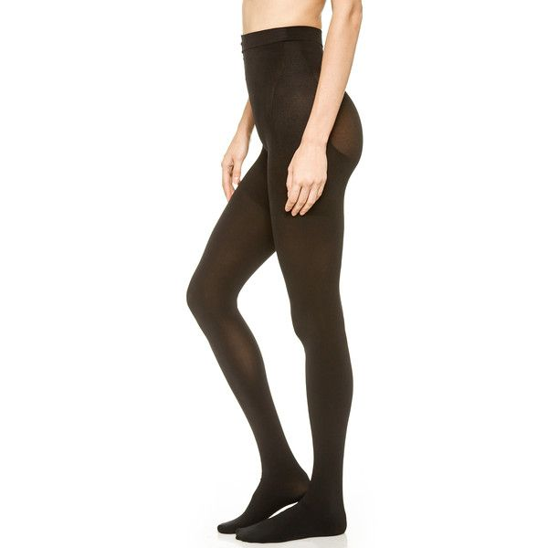 Spanx Bootyfull Tight End Tights ($32) ❤ liked on Polyvore featuring intimates, hosiery, tights, spanx pantyhose, spanx stockings, spanx tights, spanx hosiery and spanx