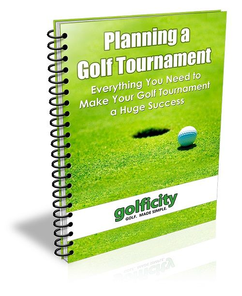 Introducing the Planning a Golf Tournament eBook by Golficity containing the info, templates, and inside tips you need to make your next golf tournament a huge success.