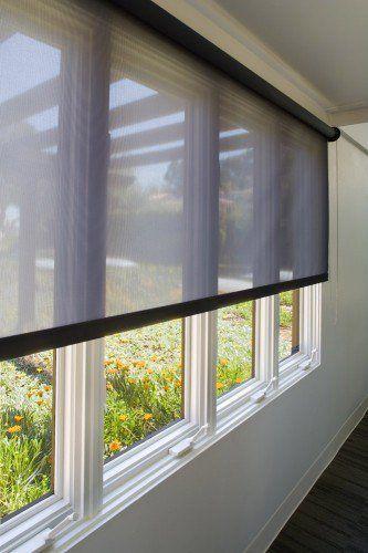 Black Sunroom Windows