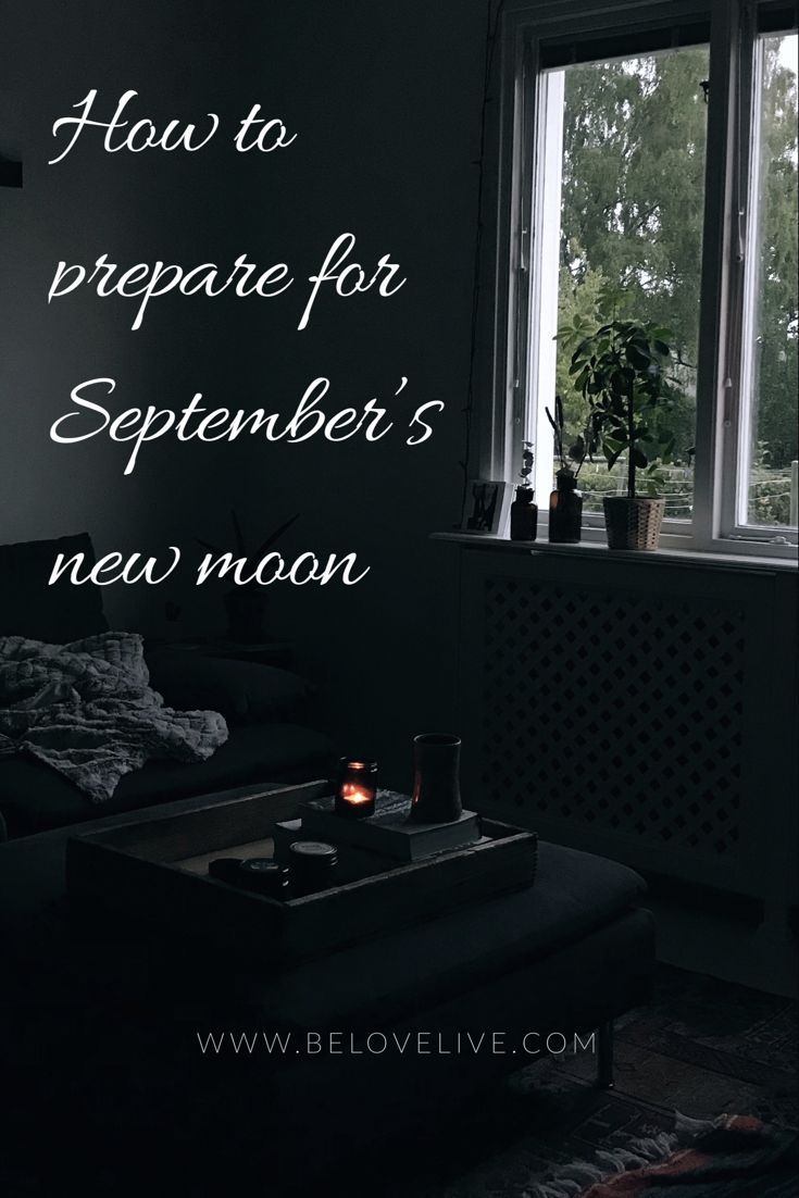 Surrendering to September's Dark New Moon   Resting in the Equinox - be love live ✺ life coach ↠ blogger ☽