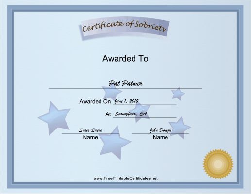 8 best certificates images on Pinterest Certificate templates - printable certificate of recognition