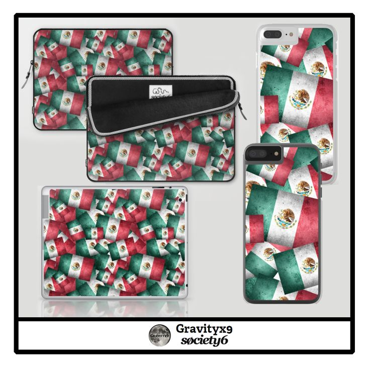S6 Mexican Flags Electronic Care by #Gravityx9 at #Society6 ~  Layers, upon layers of the Mexican Flag created with a grunge style, vintage, or distressed worn-out look.  #mexican #mexicano #mexicans #mejicanos #mexicanas #VivaMexico #mexico