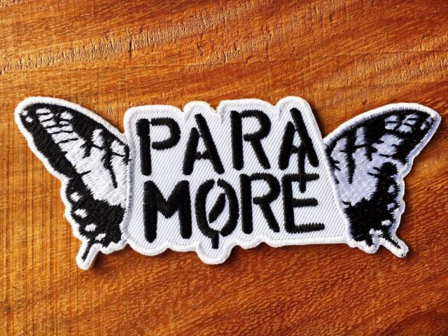 New Paramore Sew Iron On Patch Rock Band Heavy Metal Embroidered