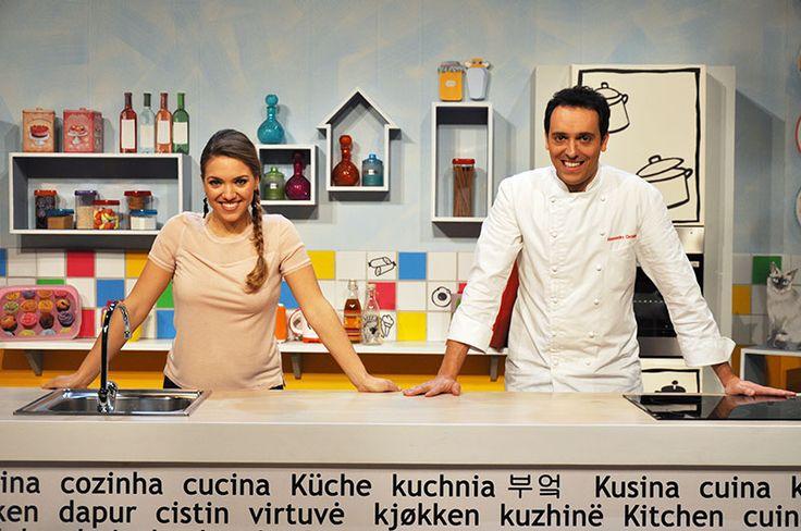 Carolina Rey e Alessandro Circiello #raiexpo #ricetteacolori #raigulp #carolinarey #alessandrocirciello #winx #tv #cibo #ricette #gioco #bimbi