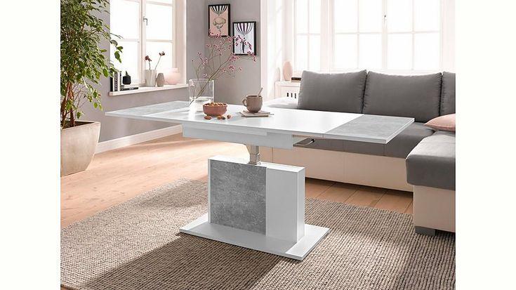 Couchtisch, höhenverstellbar und ausziehbar Jetzt bestellen unter - wohnzimmertisch höhenverstellbar und ausziehbar