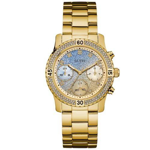 Relógio Guess Feminino Aço Dourado - W0774L2