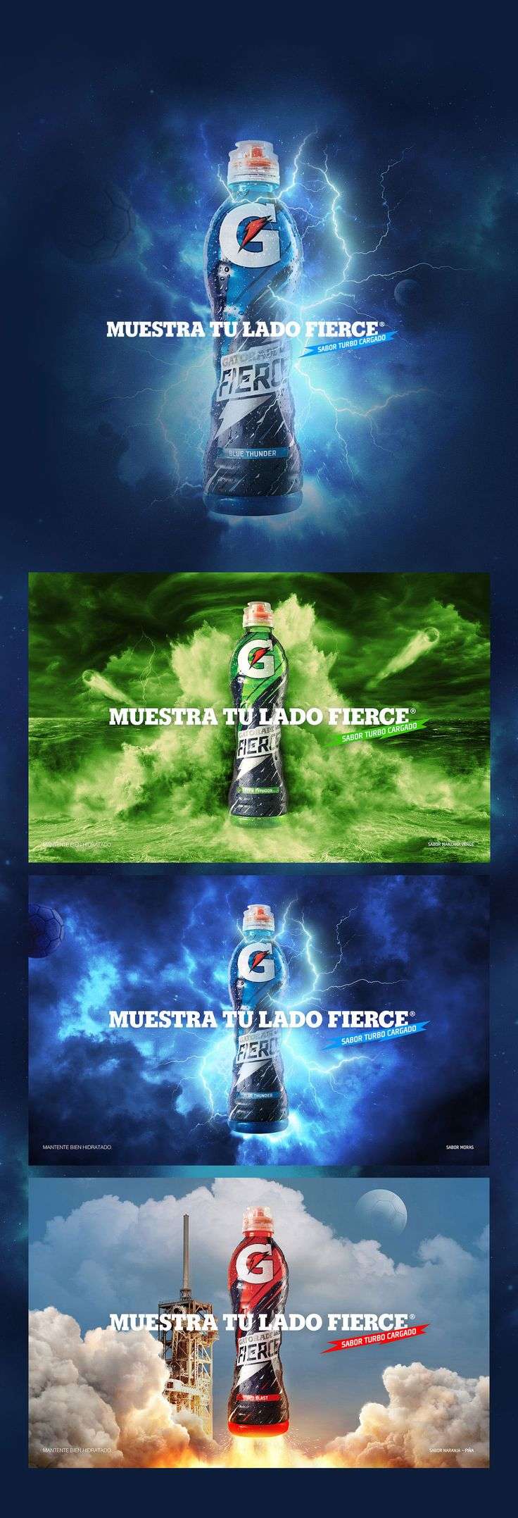 GATORADE - MUESTRA TU LADO FIERCE on Behance