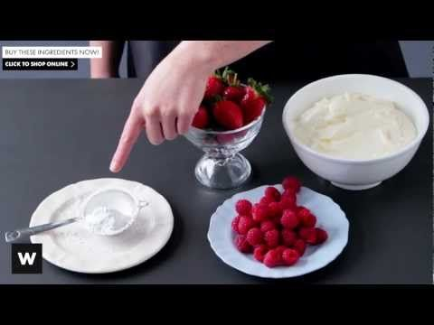 Cook Like A Chef Week 19 | How To Make Pavlova - with Woolworths