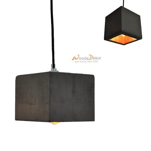 Wer sagt das Beton rau und kalt ist dem können wir nur zustimmen, es sei denn, man macht daraus ein ansehnliches Designerstück in Form einer Lampe, schraubt eine warmleuchtende Glühbirne rein und...