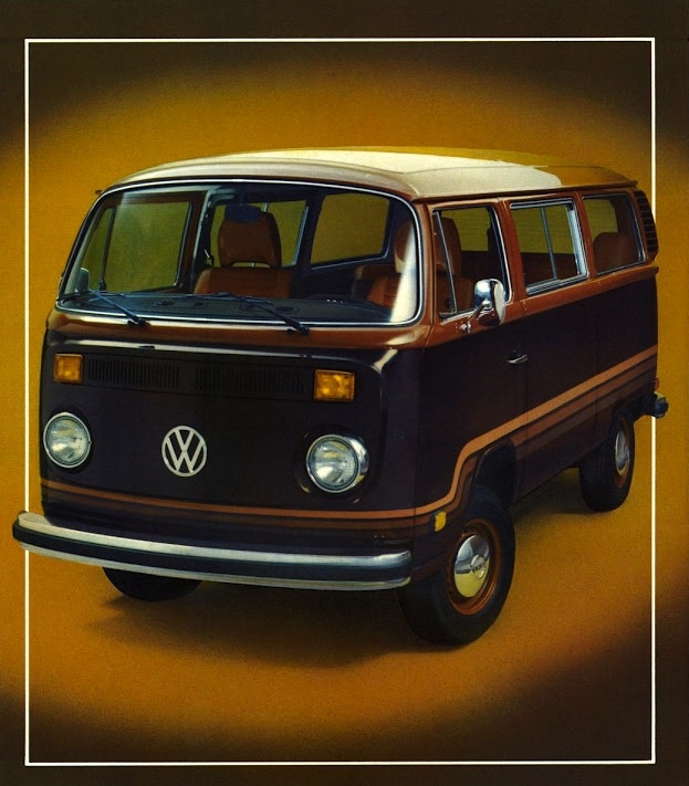 lovely VW T2 Baywindow Champagne Edition