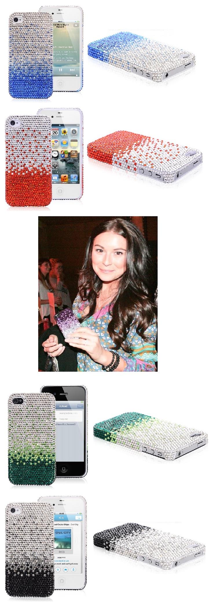 Alexa Vega has a Rhinestone iPhone 4 Glamour Case #alexavega #iphone4 #rhinestone #case #glamour #iphone #cover $14.35