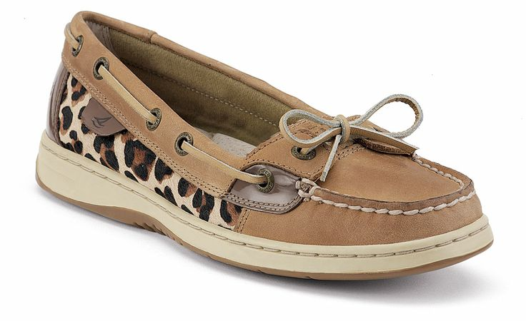 Leopard Print Sperry's  #