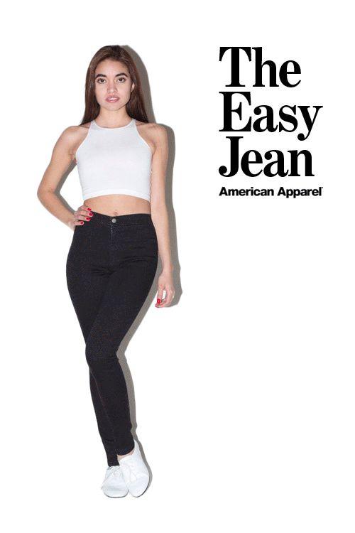 American Apparel Easy Jean Spring 2013